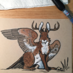 Wolpertinger (from Bestiary 2)